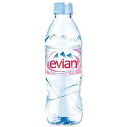 Evian Natural Spring Water 6Pk (4x6Pack)