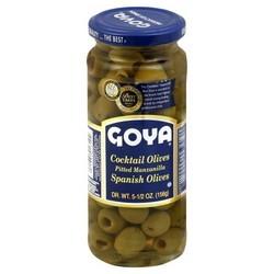 Goya Olive Manzanilla Stuffed (24x6.75Oz)