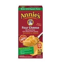 Annie's Homegrown Four Cheese Macaroni and Cheese (12x5.5 OZ)