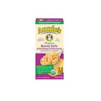 Annie's Organic Bunny Tails with Butter & Parmesan Macaroni & Cheese (12x6 OZ)