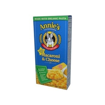 Annie's Homegrown Organic Mac and Cheese 6 oz (12x6 OZ)