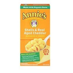 Annie's Shells and Cheddar Pasta, Assorted Display (72xCT)