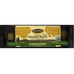 Alessi Organic Spaghetti Made with Bronze Dies (12x16 OZ)