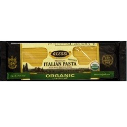 Alessi Organic Linguine Italian Pasta Made with Bronze Dies (12x16 OZ)