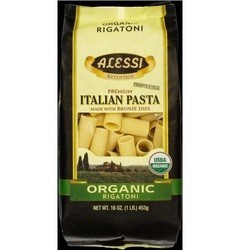 Alessi Organic Rigatoni Made with Bronze Dies (12x16 OZ)