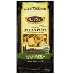 Alessi Organic Mezzi Paccheri Made with Bronze Dies (12x16 OZ)