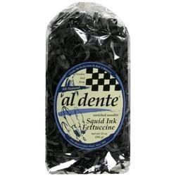 Al Dente Squid Ink Fettuccine (6x12 OZ)