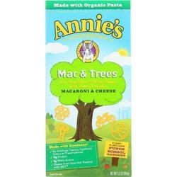 Annies Homegrown Macaroni and Cheese Mac and Trees 5.5 oz case of 12