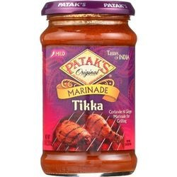 Pataks Curry Paste Concentrated Tikka Masala Medium 10 oz case of 6