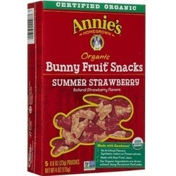 Annies Homegrown Fruit Snacks Display (72x4 OZ)