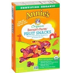 Annie's Homegrown Bernie's Farm Organic Fruit Snacks (12x4 OZ)