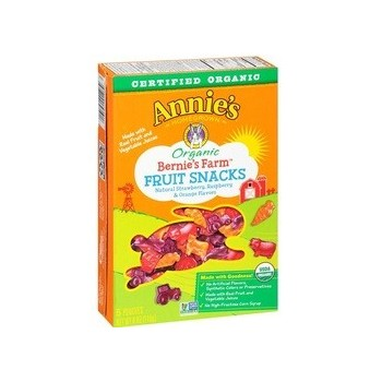 Annie's Homegrown Bernie's Farm Organic Fruit Snacks (12x4 OZ)