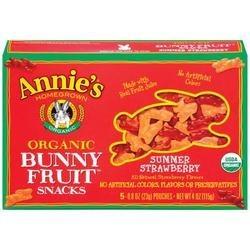 Annies Homegrown Bunny Fruit Snacks (72xCT)