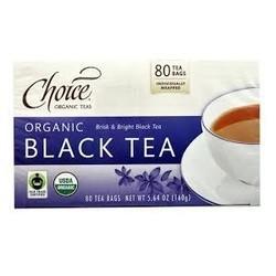 Choice Organic Teas Black Tea Value Pack (6x80 BAG)