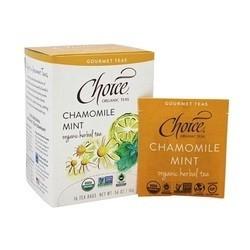 Choice Teas Gourmet Teas Chamomile Mint (6x16 CT)
