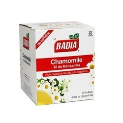 Badia Chamomile Tea (20x10 BAG)