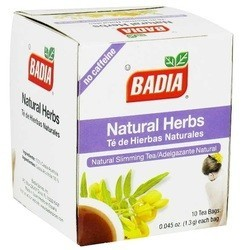 Badia Natural Slimming Tea (20x10 BAG)
