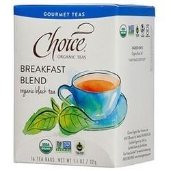 Choice Teas Gourmet Teas Breakfast Blend (6x16 CT)