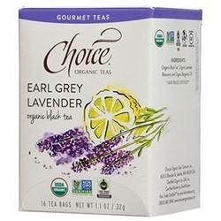 Choice Teas Gourmet Teas Earl Grey Lavender (6x16 CT)