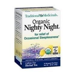 Traditional Medicinals Nighty Night Valerian Tea (6x16 Bag)