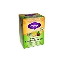Yogi Green Kombucha Decaf Tea (6x16 Bag)