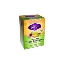 Yogi Green Triple Echinacea Tea (6x16 Bag)