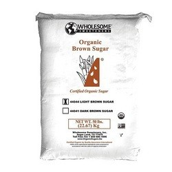 Wholesome Sweeteners Og2 Light Brown Sugar (1x50Lb)